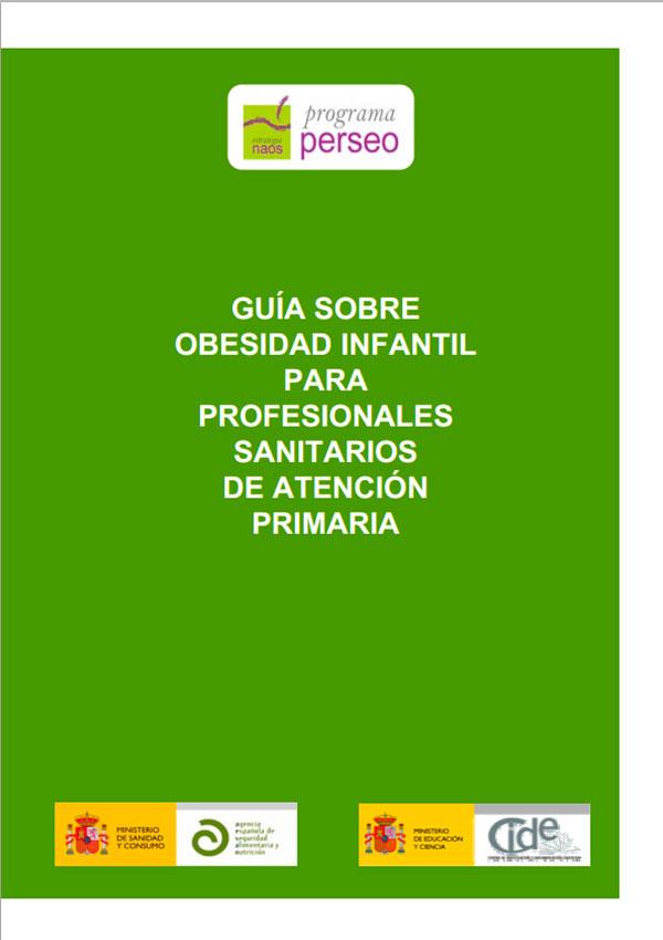 Guía sobre obesidad infantil para profesionales sanitarios de Atención Primaria