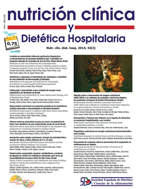 Revista Nutrición Clínica y Dietética Hospitalaria de la SEDCA