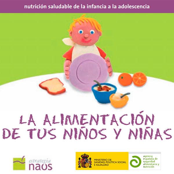Nutrición saludable de la infancia a la adolescencia