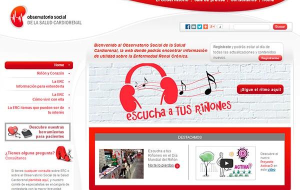 Observatorio social de la salud cardio renal.